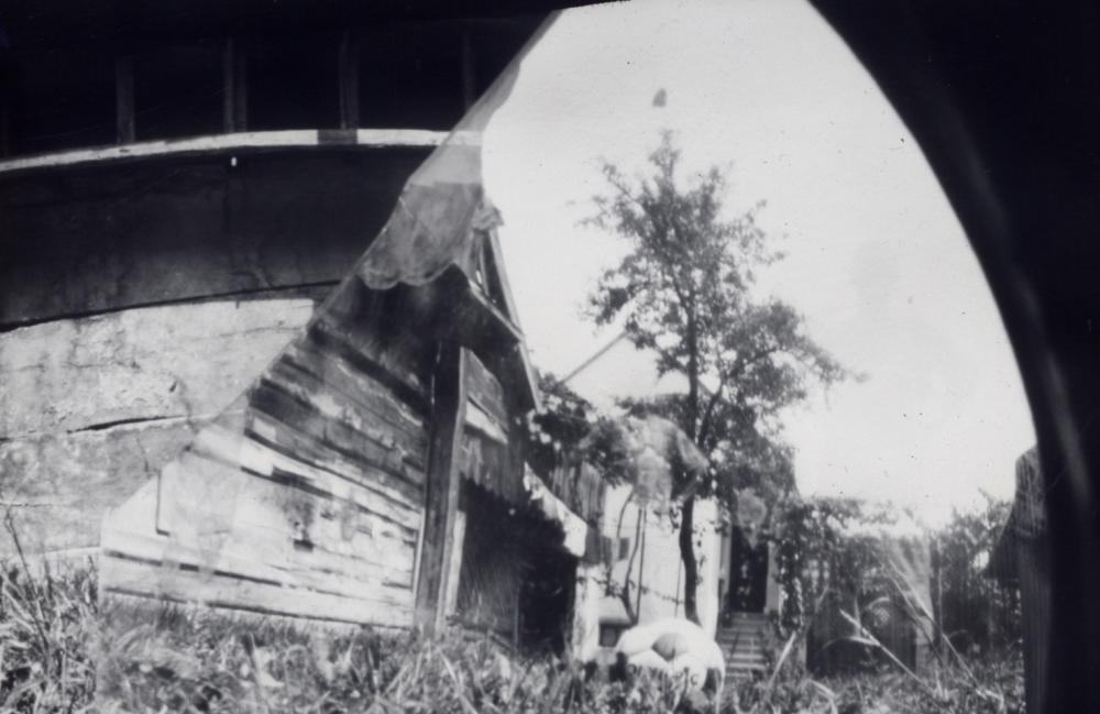 Home-made pinhole camera