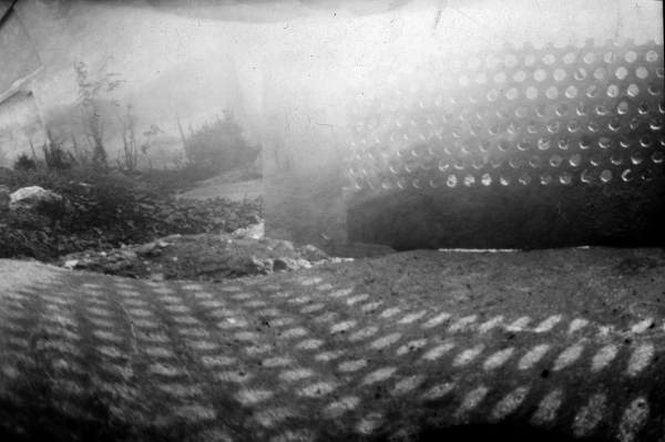 home-made pinhole camera