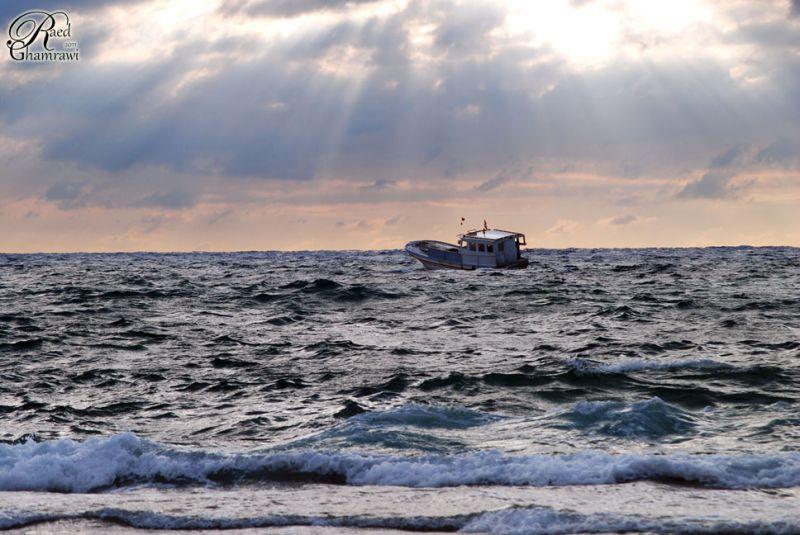 Boat , sea & Sky