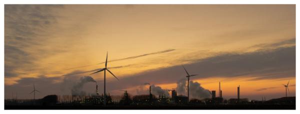 Ecologic power vs industry