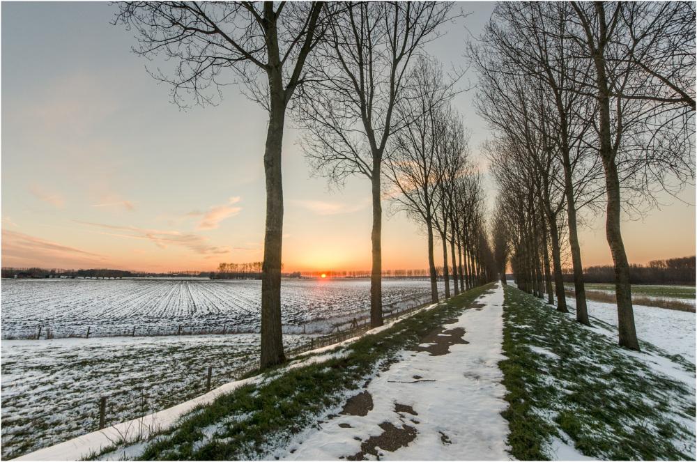 The very last snow