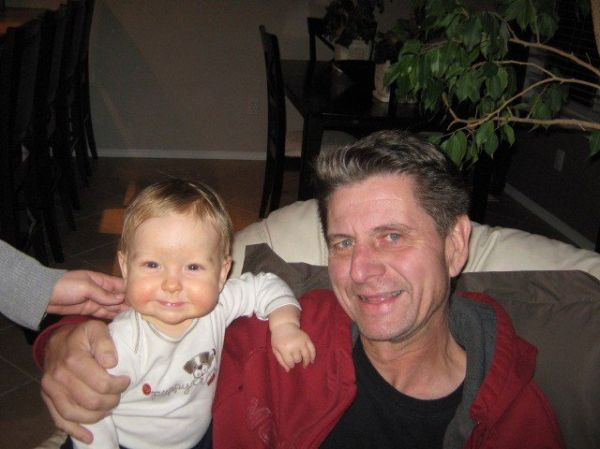 Cael and late Papa Goertz