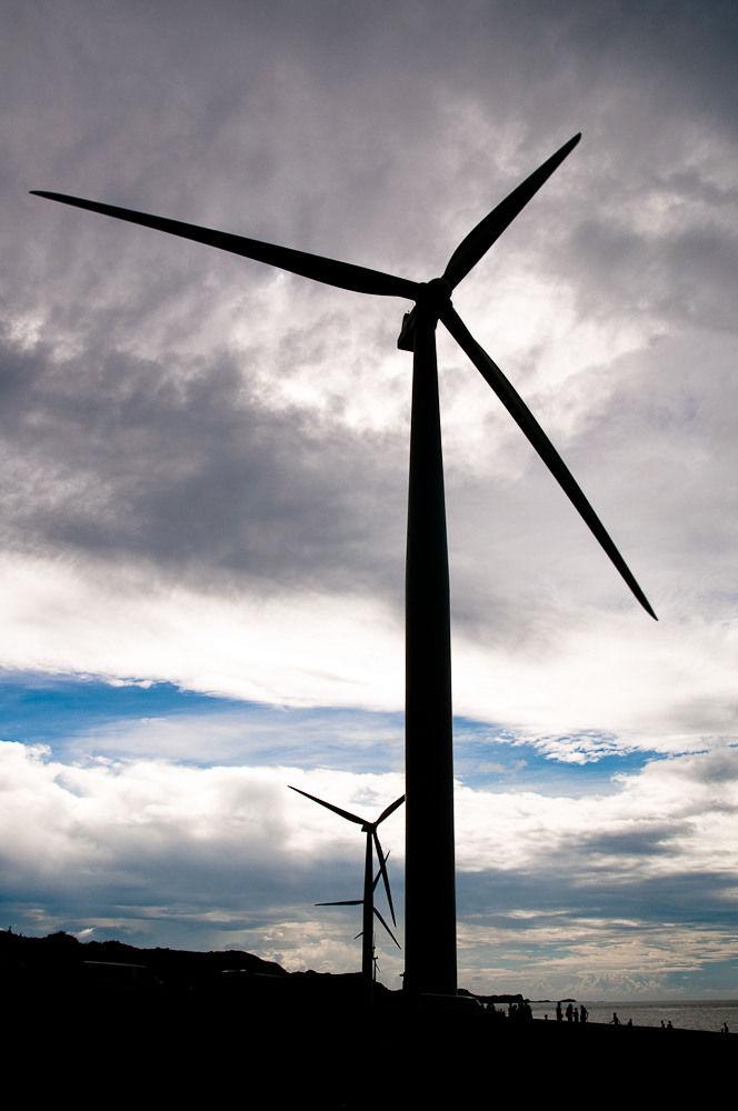 Behind A Windmill