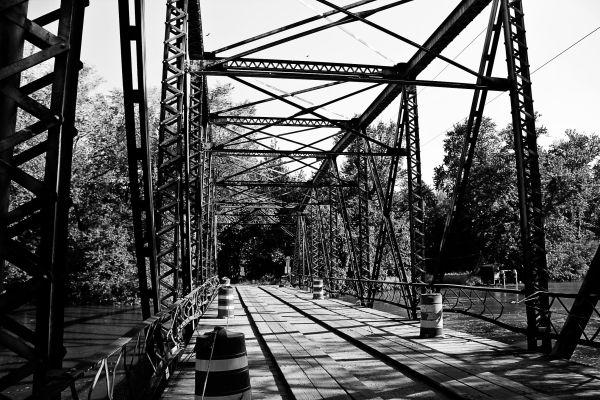 Range Line Road Bridge, Lake County, IN. 2011.