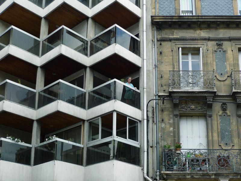 Balcons en ville