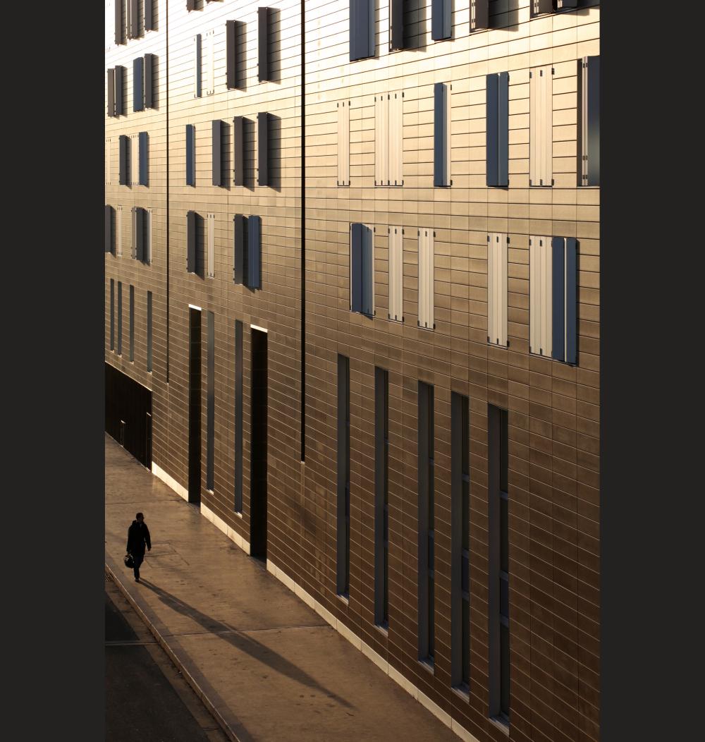 Or, paris, urbain, géométrie