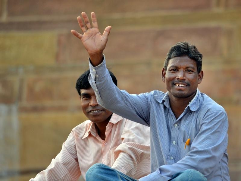 The smile's Ganges, Varanasi 4/20