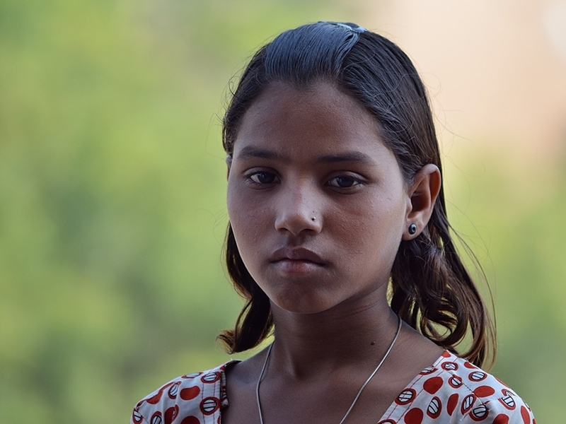 Young woman, Madia Pradesh