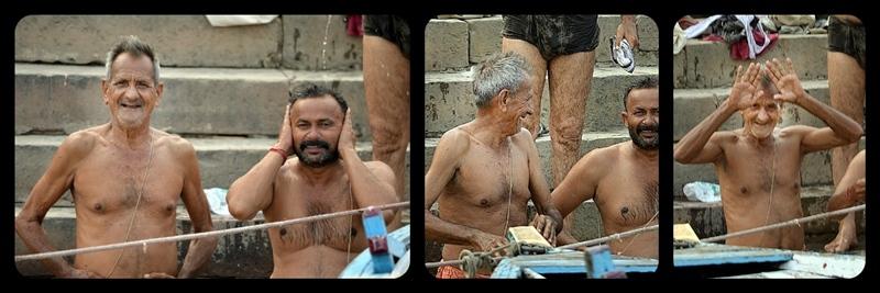 The smile's Ganges, Varanasi 8/20