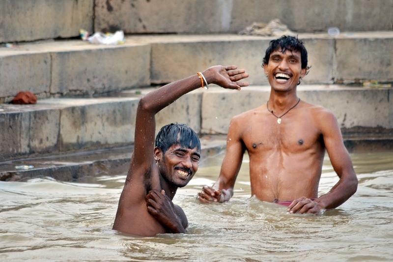 The smile's Ganges, Varanasi 11/20