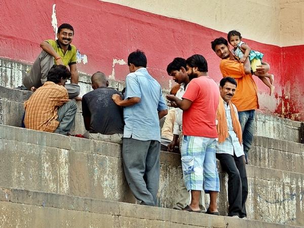 The smile's Ganges, Varanasi 14/20