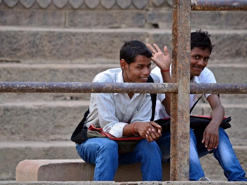The smile's Ganges, Varanasi 16/20