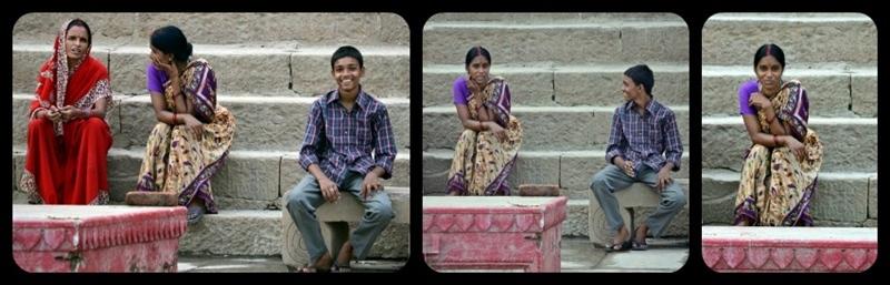 The smile's Ganges, Varanasi 17/20