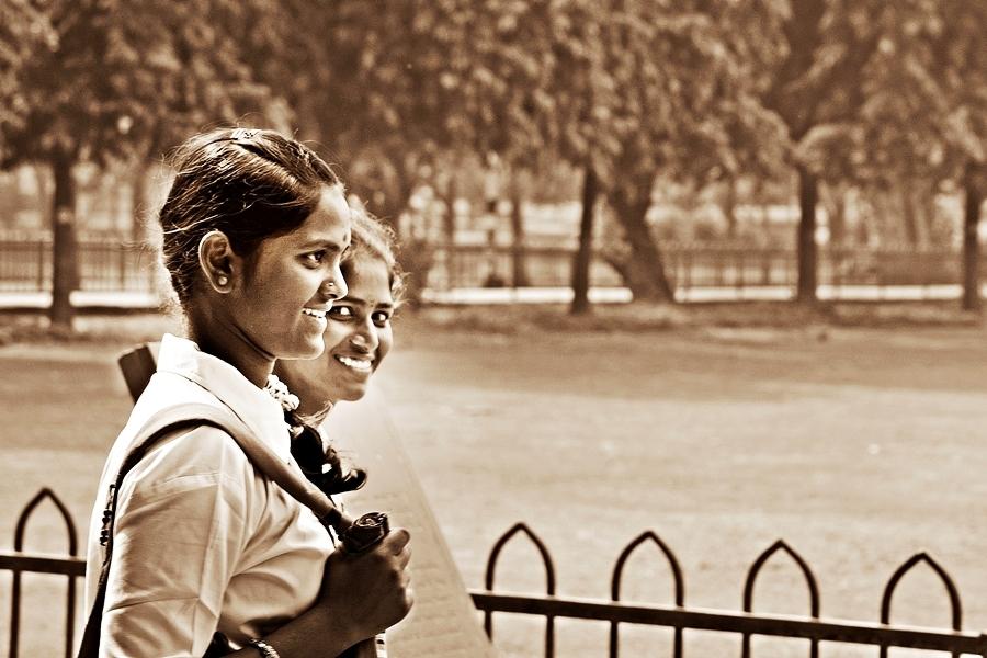 The smile in Delhi's portraits 6/15
