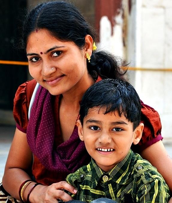 The smile in Delhi's portraits 10/15