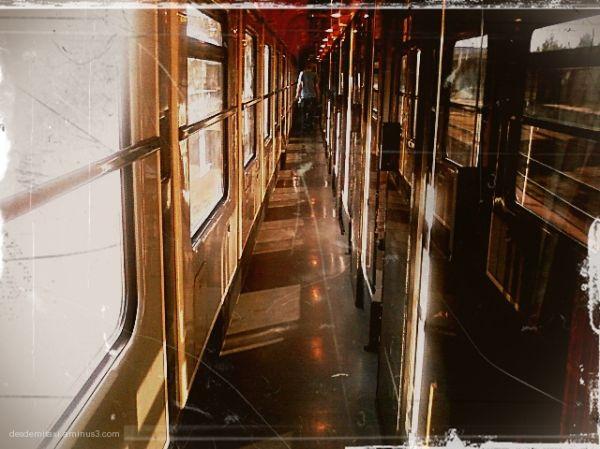 tren vacio