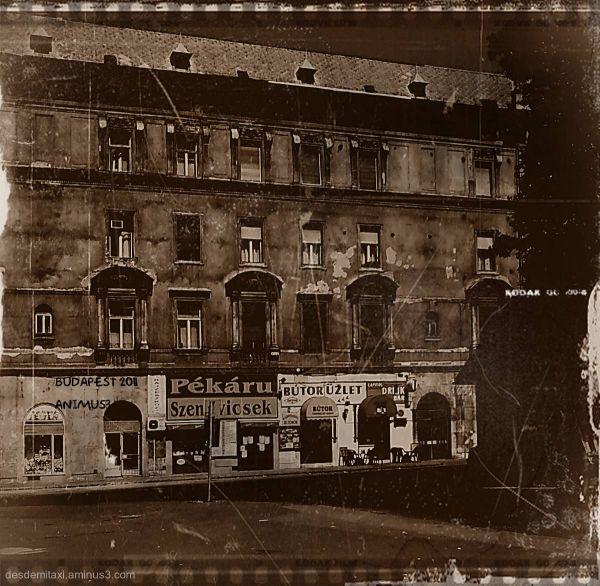 un viejo edificio