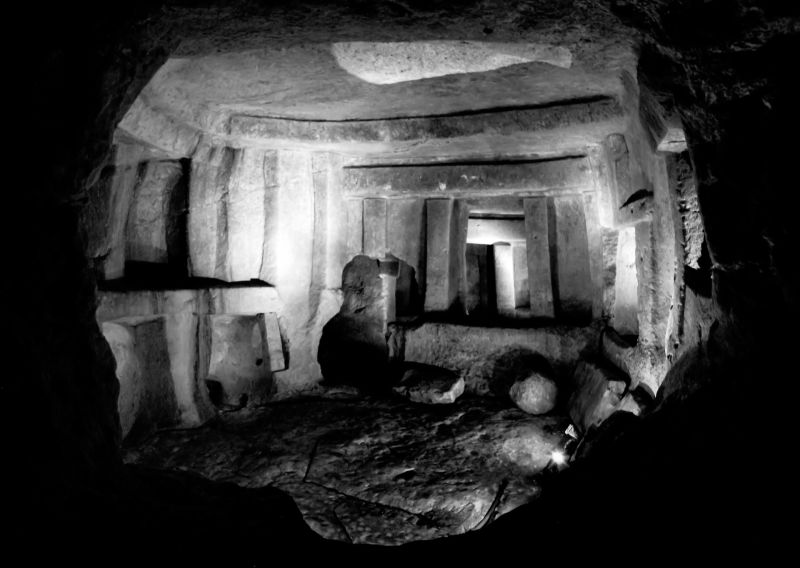 looking back 5,000 years - hypogaeum, malta