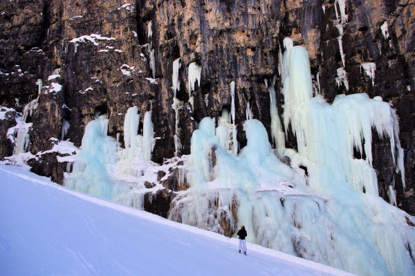 icefalls at lagazuoi