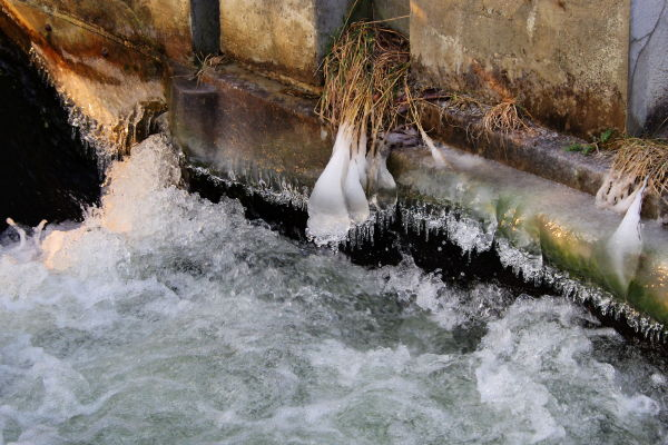 attractive icicles canal