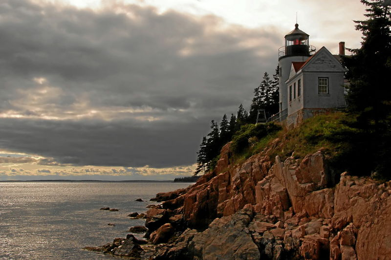 bass harbor head lighthouse, mount desert island