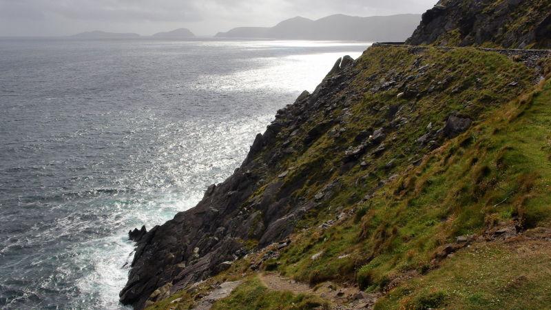 rocky coast near slea head