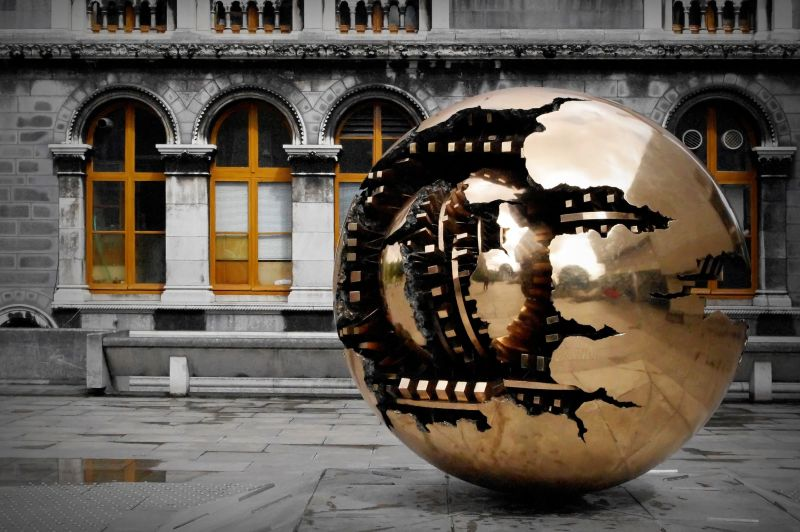 sphere within sphere, trinity college, dublin