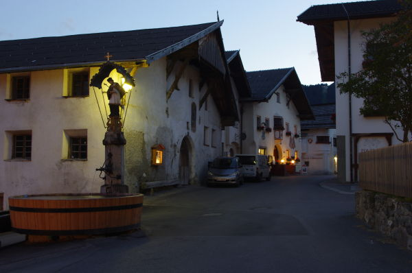 traditional tirolean architecture, fiss