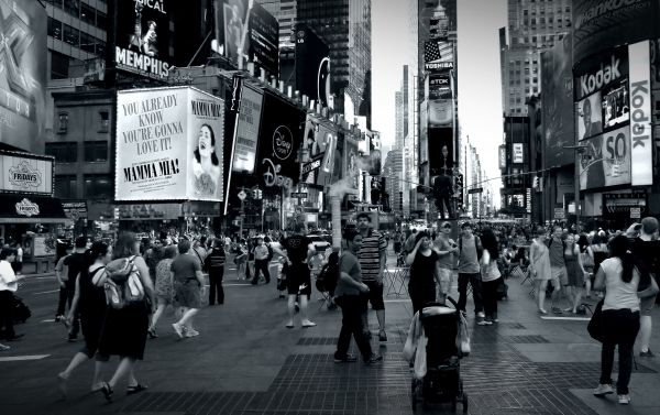 new york times square dramatic