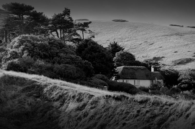 thatched cottage, west lulworth, dorset