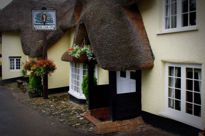 the royal oak inn, winsford, exmoor
