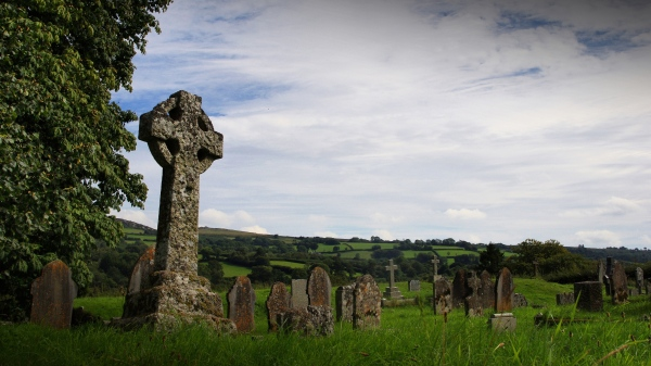 cemetery, widecombe-in-the-moor, dartmoor