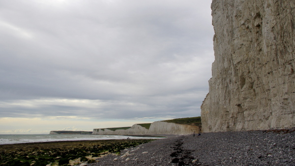 seven sisters cliffs near eastbourne, east sussex