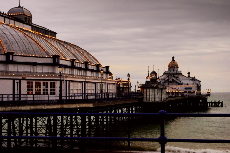 the pier in eastbourne, sussex