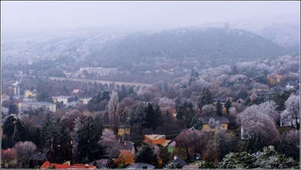 baden, view of helenental and aquaeduct