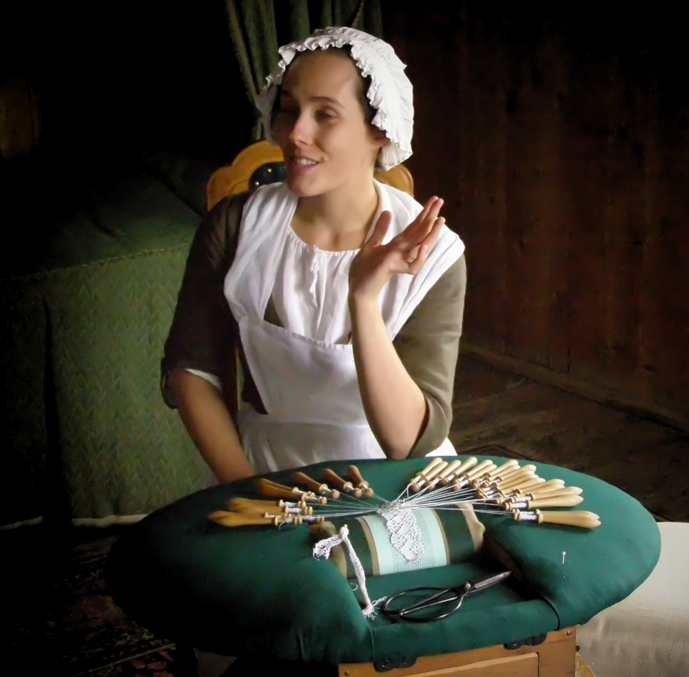 lacemaker, fortress louisbourg