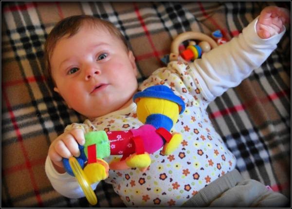 emilia, five months old