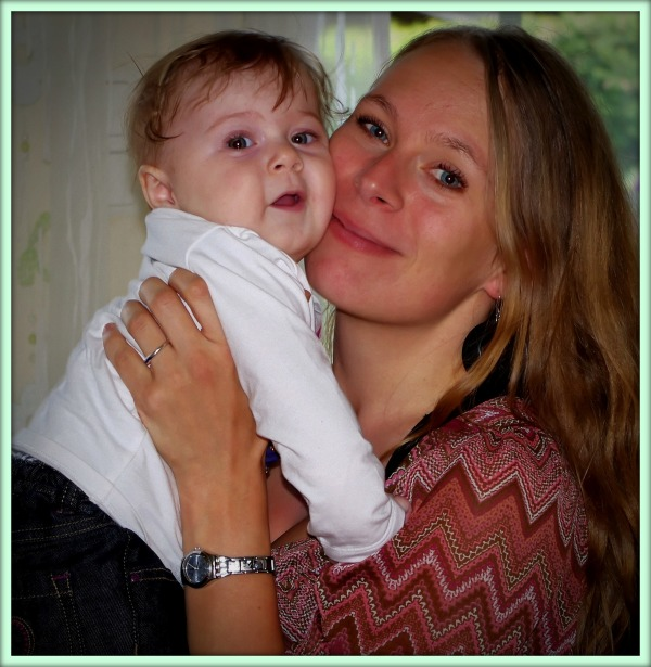 emilia, eight months old, jutta