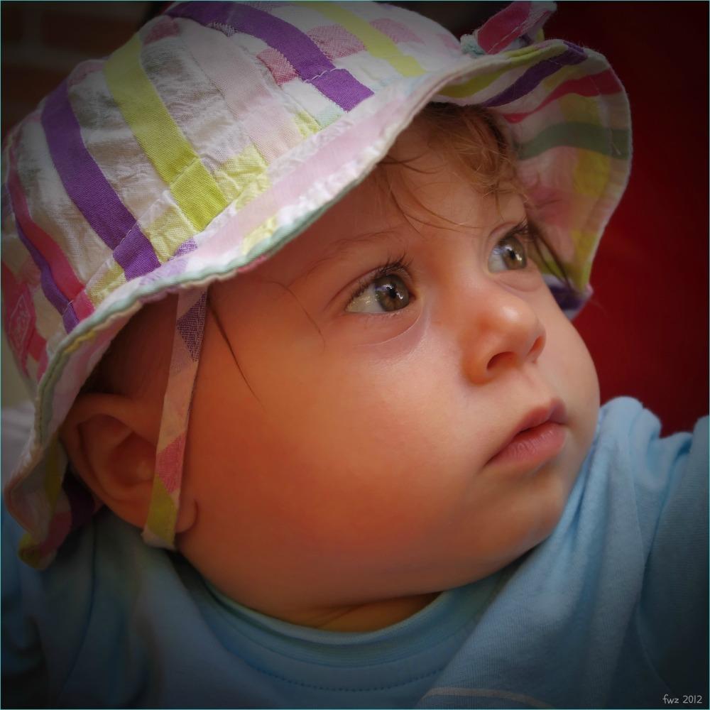 emilia, eleven months old, mellow