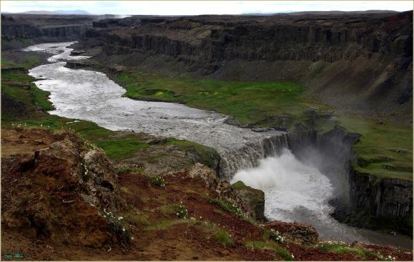 iceland, jökulsá, canyon, hafragilsfoss