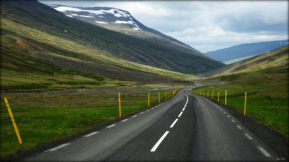 """iceland, öxnadalsheiði, """"highlands"""", road"""