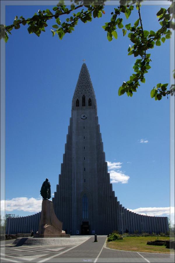 iceland, reykjavik, hallgríms church