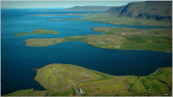 iceland, west coast, aerial photo