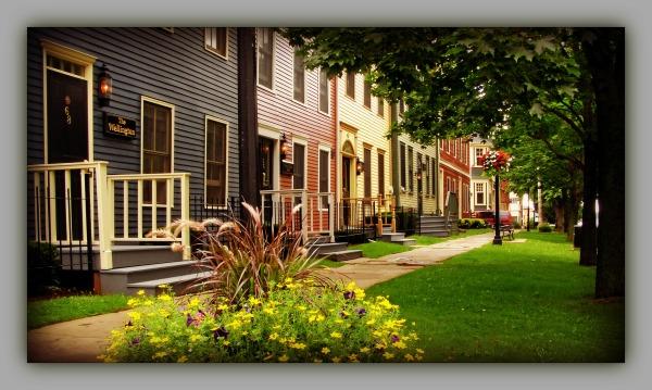 canada, PEI, charlottetown, residental street