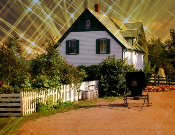 canada, PEI, cavendish, green gables farm, effect