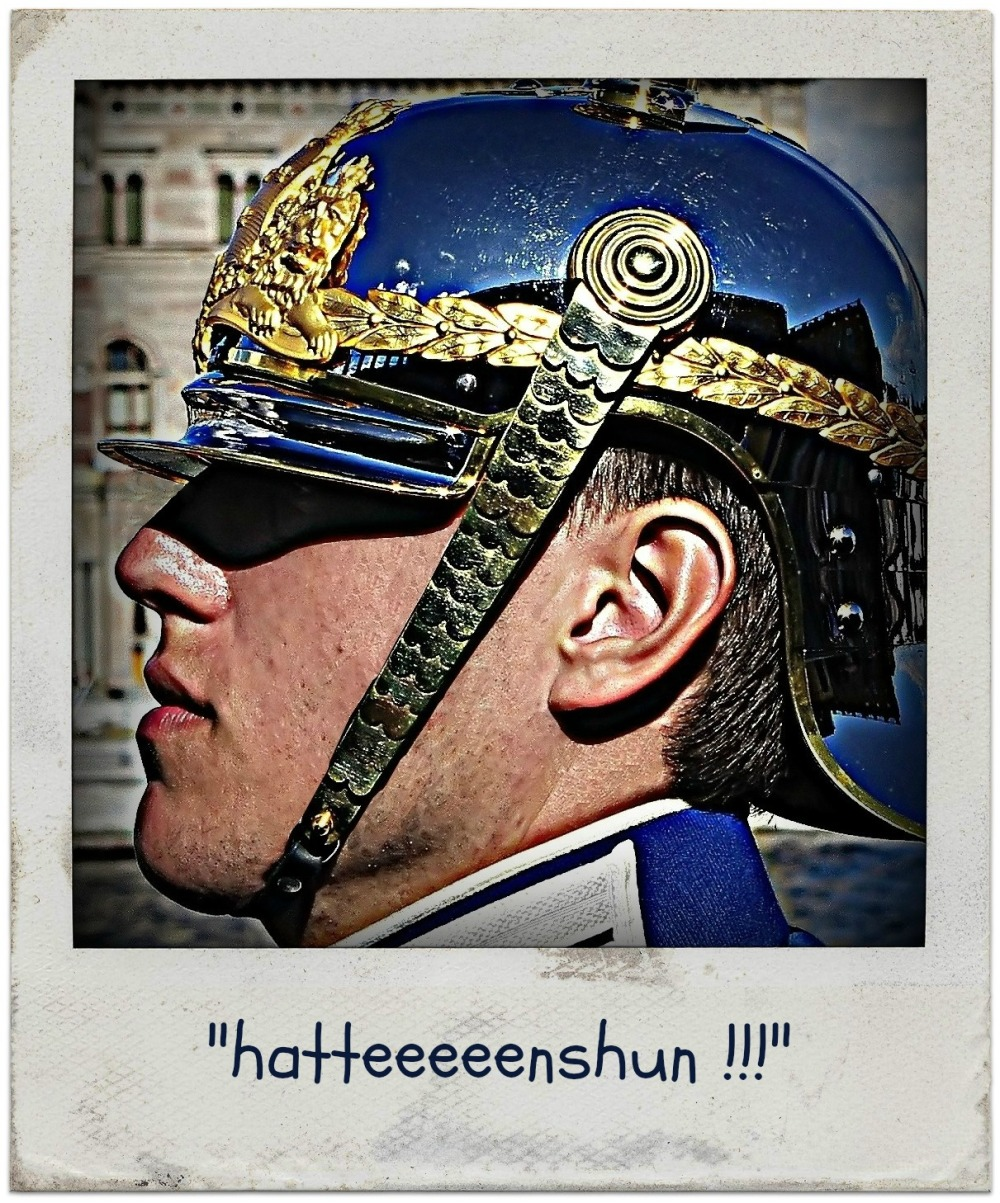 sweden, stockholm, soldier, guard, profile, hdr