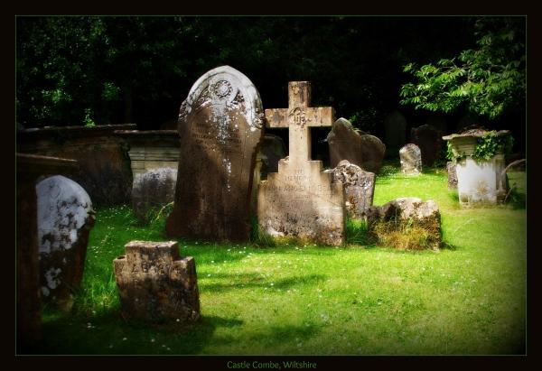 england, wiltshire, castle combe, graveyard, orton