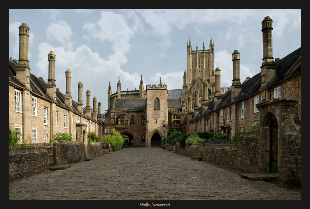 england, somerset, wells, vicars' close