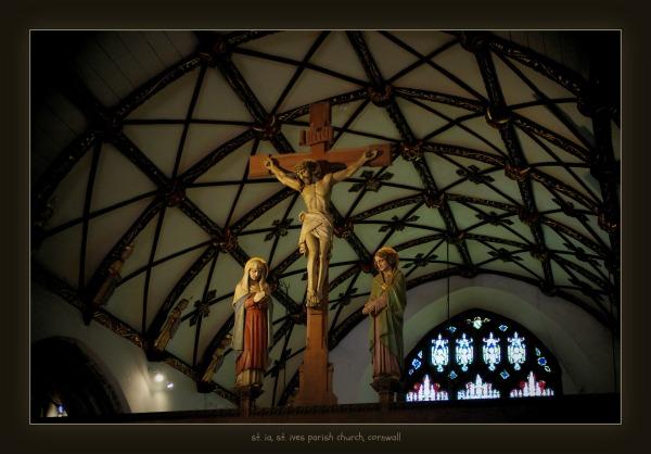 england, cornwall, st. ives, parish churc, st. ia
