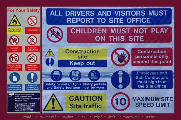 england, warning signs